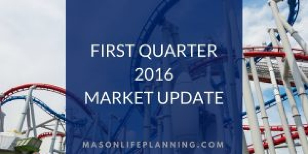 First Quarter 2016 Market Update